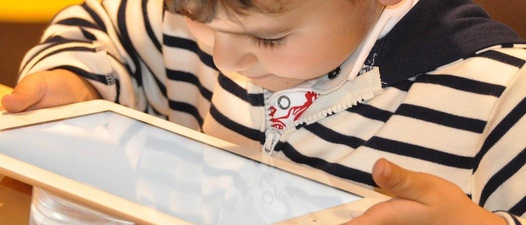 Dziecko na technologicznym zakręcie